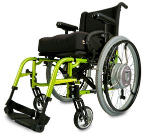 Power Assist Wheelchairs