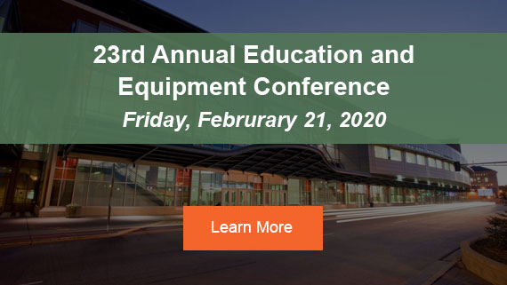 Register for the 23rd Annual Education and Equipment Conference